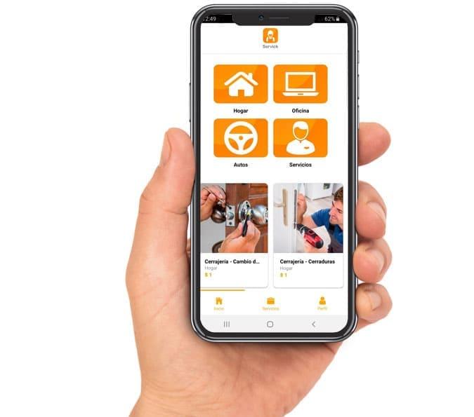 Desarrollo de aplicaciones moviles y apps