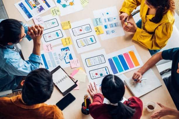 Prototipos de diseño de aplicaciones móviles