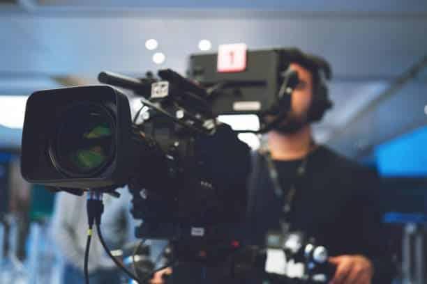producción audiovisual cámaras profesionales