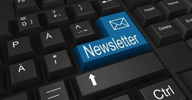 Mailing marketing newslatters