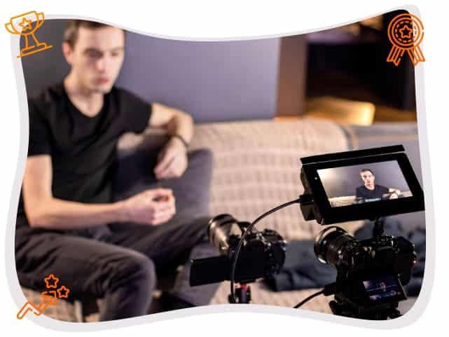 Grabando una produccion audiovisual bogota colombia